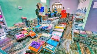 Biggest Wholesaler of Handloom Sarees /Pure Silk Sarees / 100% Pure Cotton Sarees & Printed Sarees😱😱
