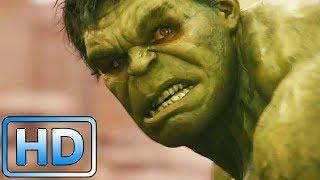 Халк нападает на город / Мстители: Эра Альтрона (2015)