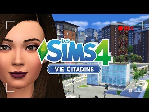 [Sims 4 : Vie Citadine] 🏦 October la folle EP.1
