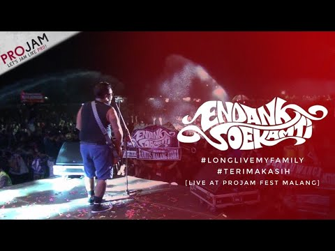 Endank Soekamti-Long live my family, Terimakasih Live Malang
