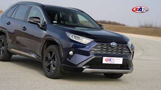 Toyota RAV4 - Test on track NAVAK