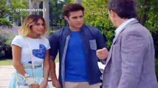 Violetta 3 - León y Violetta van a hablar con Nicolás (03x66)