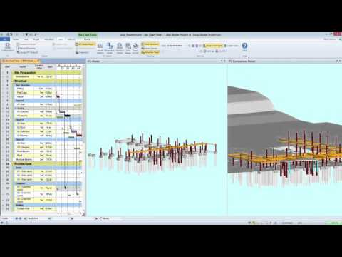 Display alternative 3D view using the IFC Comparison Model pane, for baseline or progress analysis