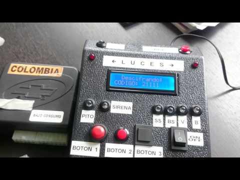 Decodificador Claves Alarmas Chevrolet.