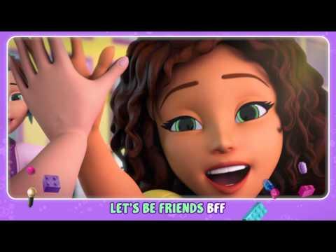 Let's Be Friends - LEGO Friends - Music Video (Karaoke)