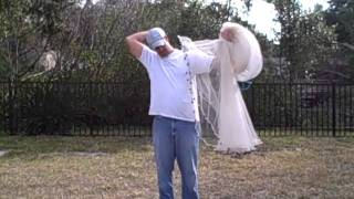 How to throw a cast net for pilchards - Best & Easiest