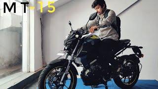 Yamaha MT 15 Test Ride Failed