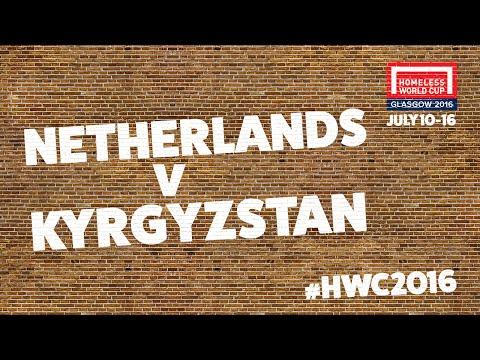 Netherlands v Kyrgyzstan l Second Stage Group B #HWC2016