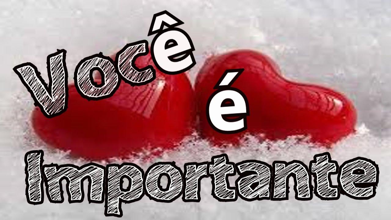 Bela Mensagem De Amor Você é Importante Para Mim Feliz Dia Dos