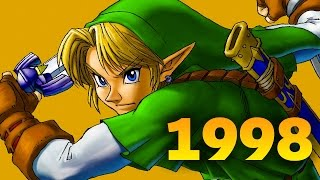 Ocarina of Time, Half-Life and Pokemon Made 1998 Awesome for Geeks - History of Awesome