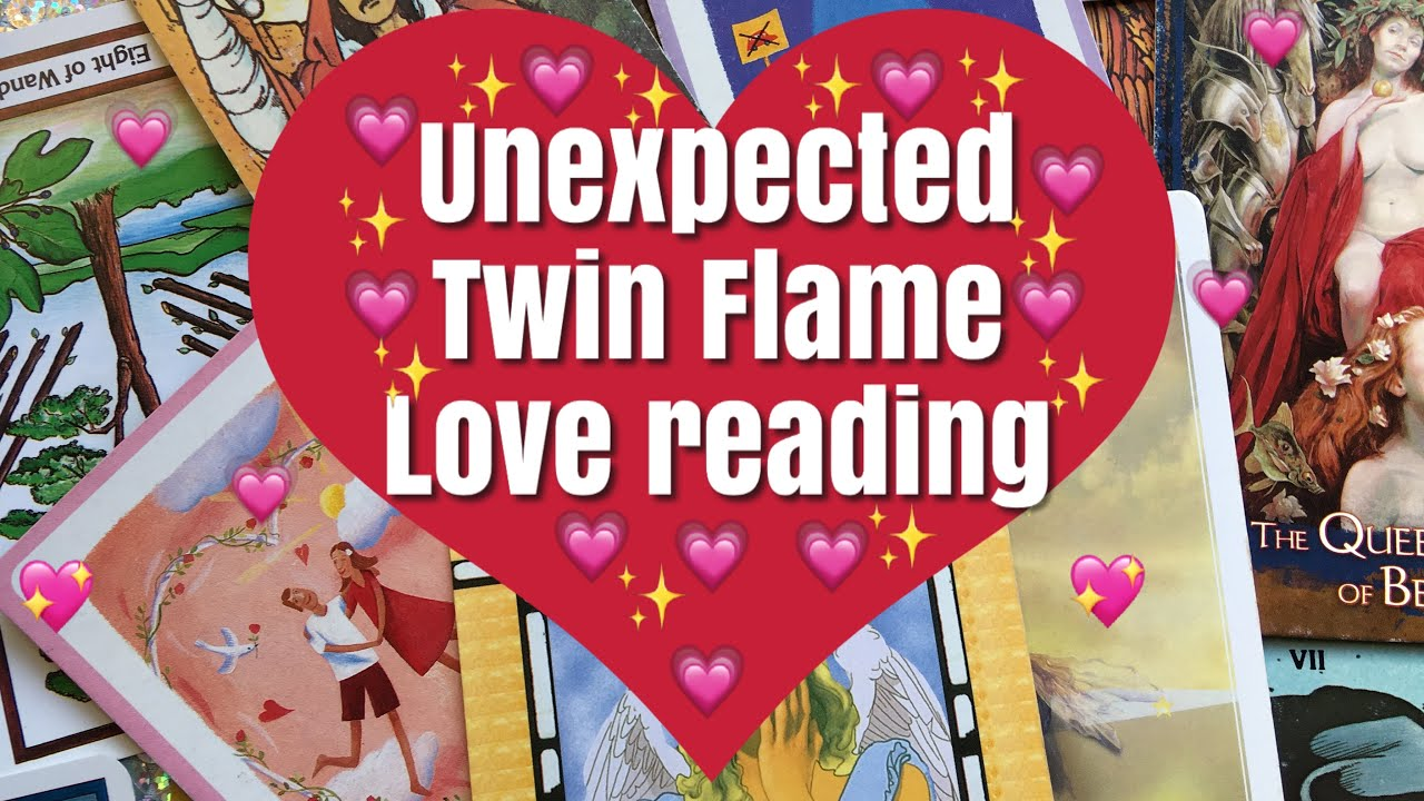 Unexpected Twin Flame Love Tarot Reading ~ Listen if you feel drawn