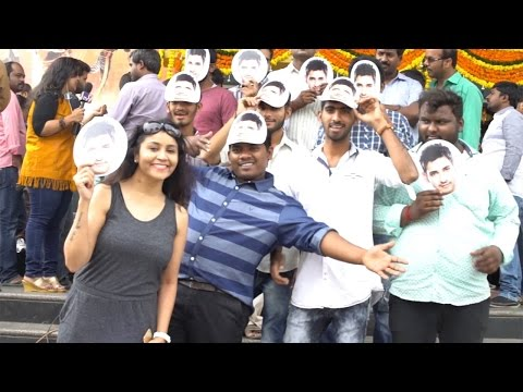 Mahesh Babu Fans Hungama @ Prasads IMax Theater | TFPC