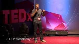 Πρωταγωνιστές κόντρα στη μοίρα τους: Σταύρος Θεοδωράκης at TEDxAcademy