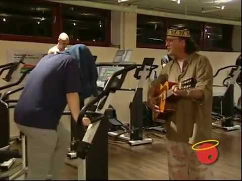 Hans Werner Olm - Iff im Fitness Studio