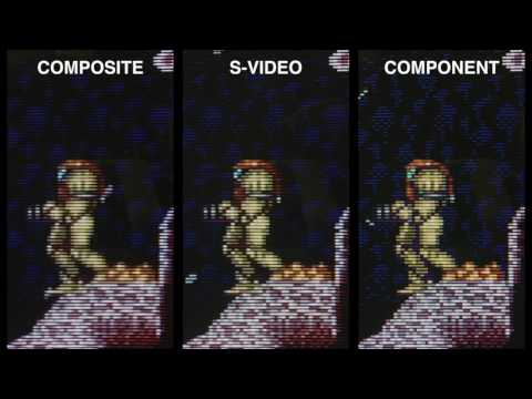 RetroTink Demonstration - Raspberry Pi 240p Component and S-Video Output