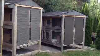 Canadian Rabbit Hutch Sun Shade