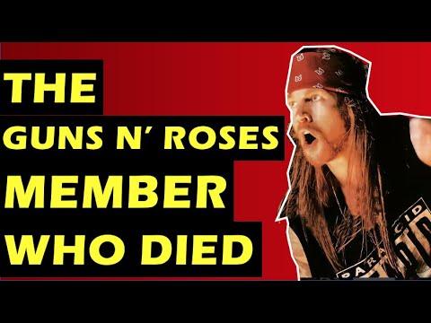 Guns N' Roses  The Tragic Death of Bassist Ole Beich Who Duff McKagan Replaced