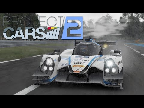 Project Cars 2 Le Mans Race in Crazy Weather |