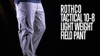 Tactical 10-8 Lightweight Field Pant - Rothco Product Breakdown