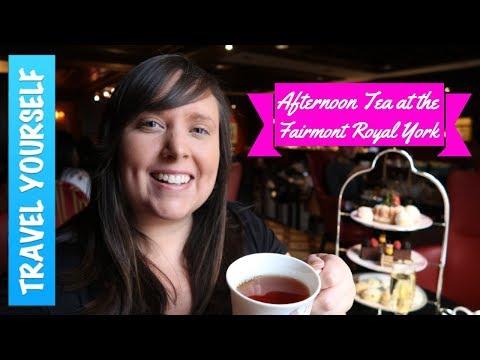 Fairmont Royal York Afternoon Tea In Toronto