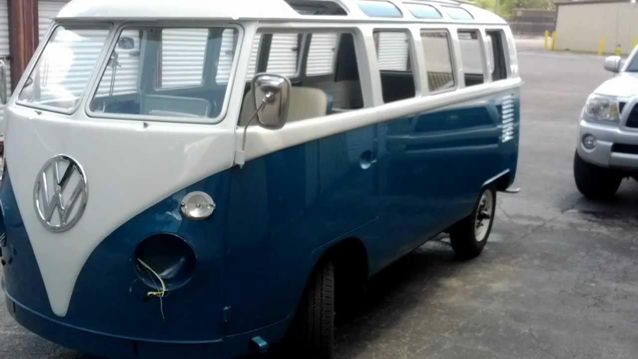 Ole blue 1966 21 window vw bus restoration update youtube for 1966 21 window vw bus