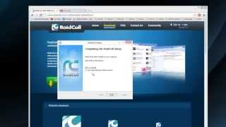 How to: Install and Register for RaidCall! - A Free Ventrillo or TS Alternative!