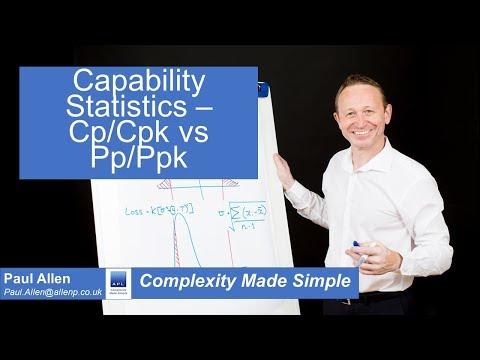 Capability Statistics - Cp/Cpk vs Pp/Ppk and Sigma level