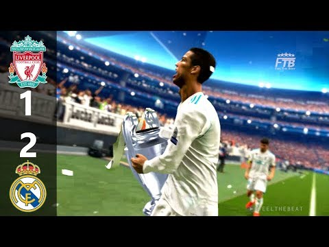 PES 2018 | LIVERPOOL vs REAL MADRID | UEFA CHAMPIONS LEAGUE FINAL | FULL MATCH & GAMEPLAY PS4