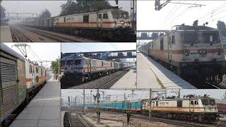 Indian Railways Premium trains with Sleeper Accomodation - Rajdhani, Humsafar and AC Superfast Exp