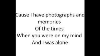 Photographs & Memories - Jason Reeves instrumental w/ no vocals lyrics revised for a wedding song)