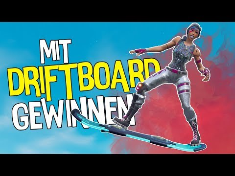NIE ABSTEIGEN | Nur Driftboard Challenge | Fortnite Battle Royale