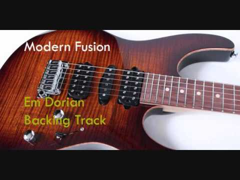 Modern Jazz Fusion backing track (Em Dorian)