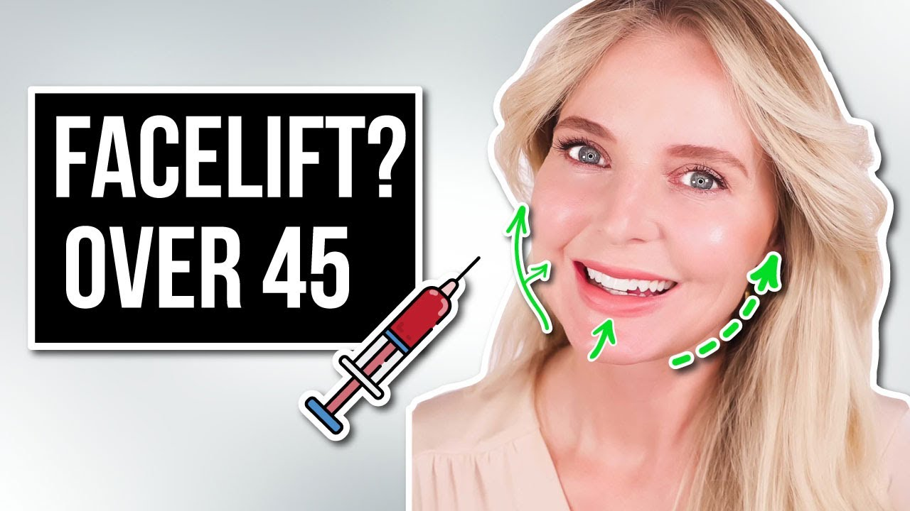My Secret To Looking 10 Years Younger and Lifting My Skin *Without Surgery* (Over 45)