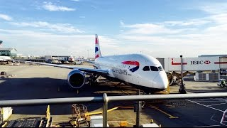 british airways 787 dreamliner business class from london to seoul 4k