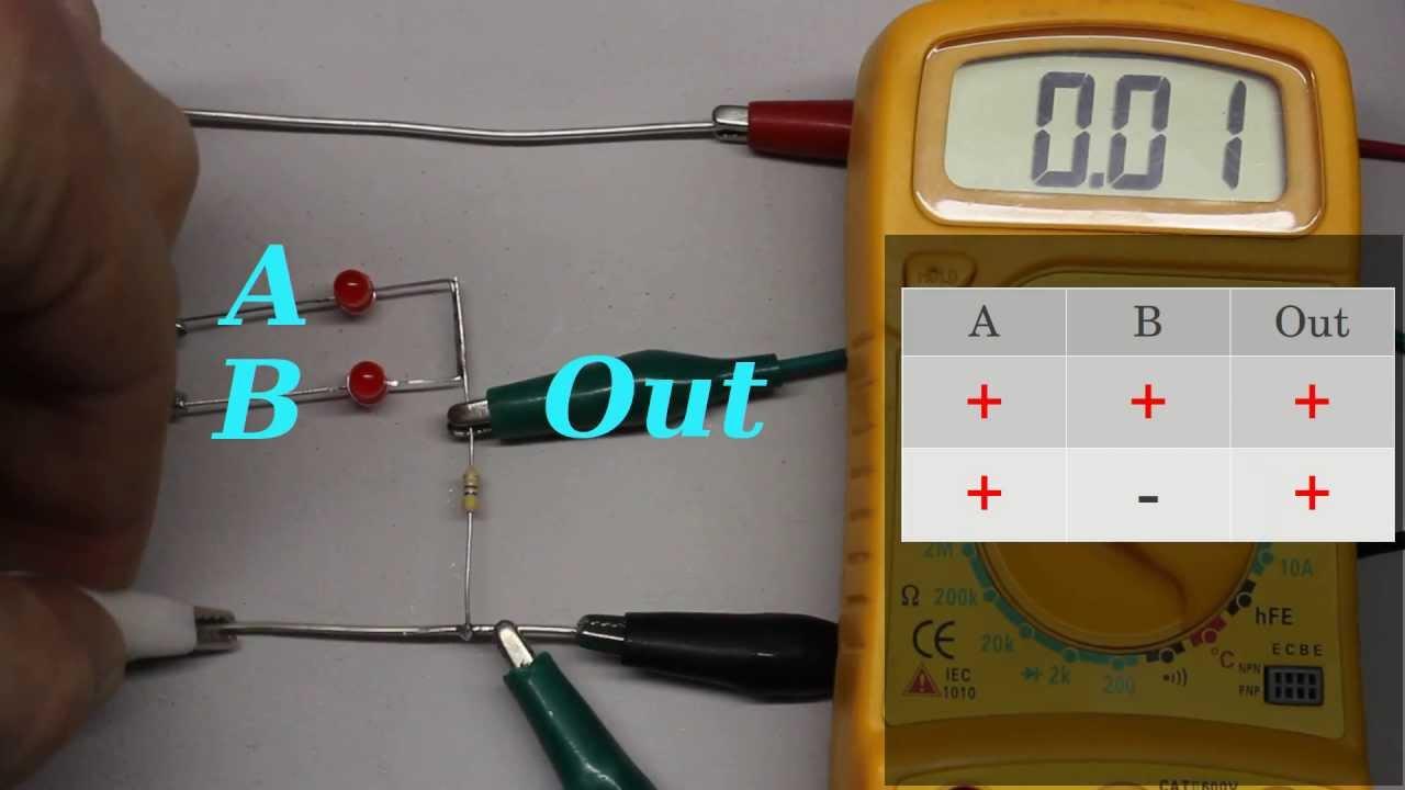 Logic Gates Youtube Diode Transistor Logicdtl Circuits By Scu20129