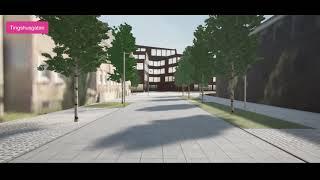 Förslag till utformning - Fyra gator Gällivare