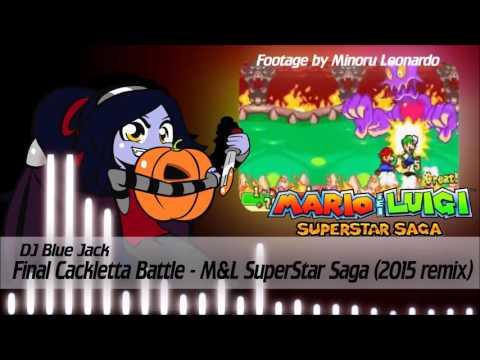 Mario & Luigi SSS [Remix] - Final Cackletta Battle (2015 Remake)