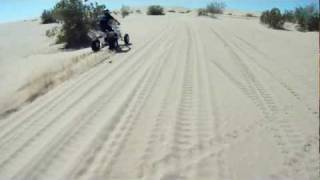 Glamis 2011 Banshee & YFZ 450 with a surprise at the end
