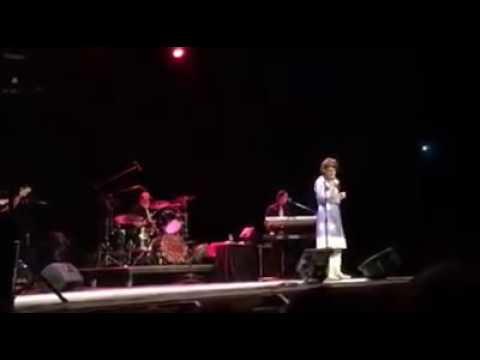 Laurie Performing at Burton Cummings Theatre