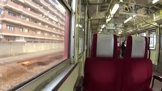 【鉄道車窓】JR七尾線  415系 交直セクション通過【津幡→中津幡】