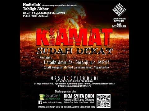 Download (Live) Dari Masjid Syifa Budi Lippo Cikarang. Ustadz.  Amir As-Soronji, Lc. M.Pd.I Hafidzahullahu