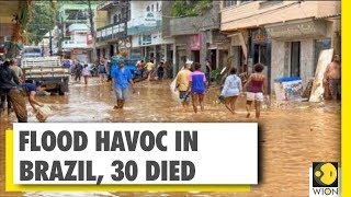 Brazil: At Least 30 People Killed In Heavy Floods