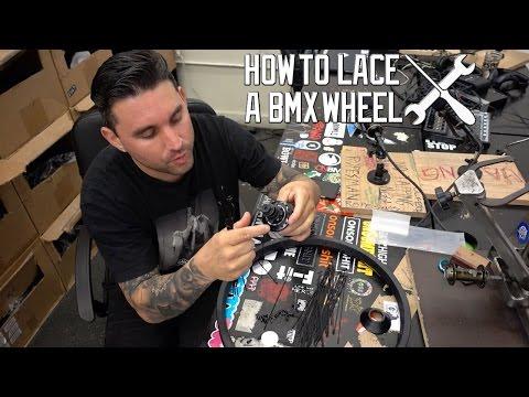 HOW TO LACE A BMX WHEEL (36HOLE 3 CROSS)