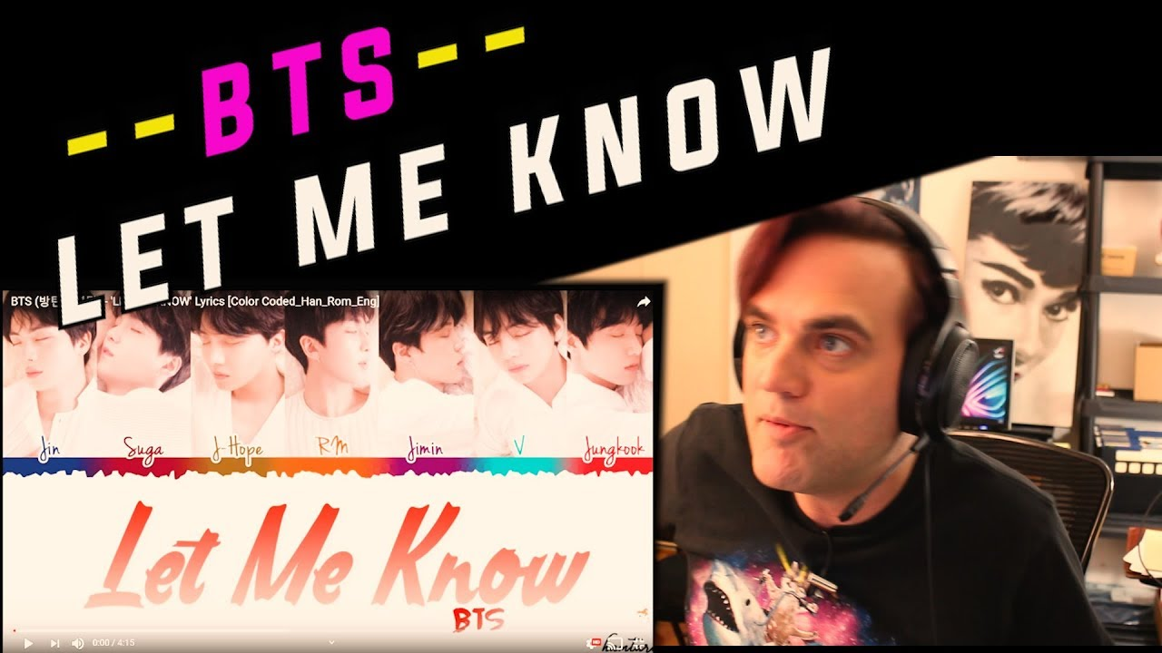 J-hope and V sound great! Reaction to BTS - Let Me Know