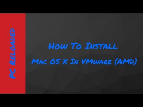 Mac OS X El Capitan In VMware (AMD)