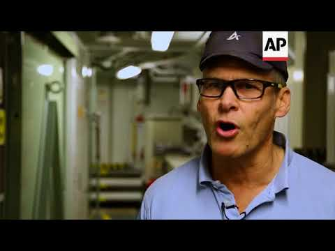 Only on AP: Inside record-breaking MSV Nordica icebreaker
