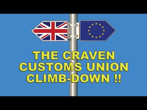 Leave.EU on Theresa May's Craven Customs Union Climb-Down