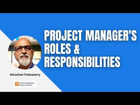 program manager duties - Goalgoodwinmetals