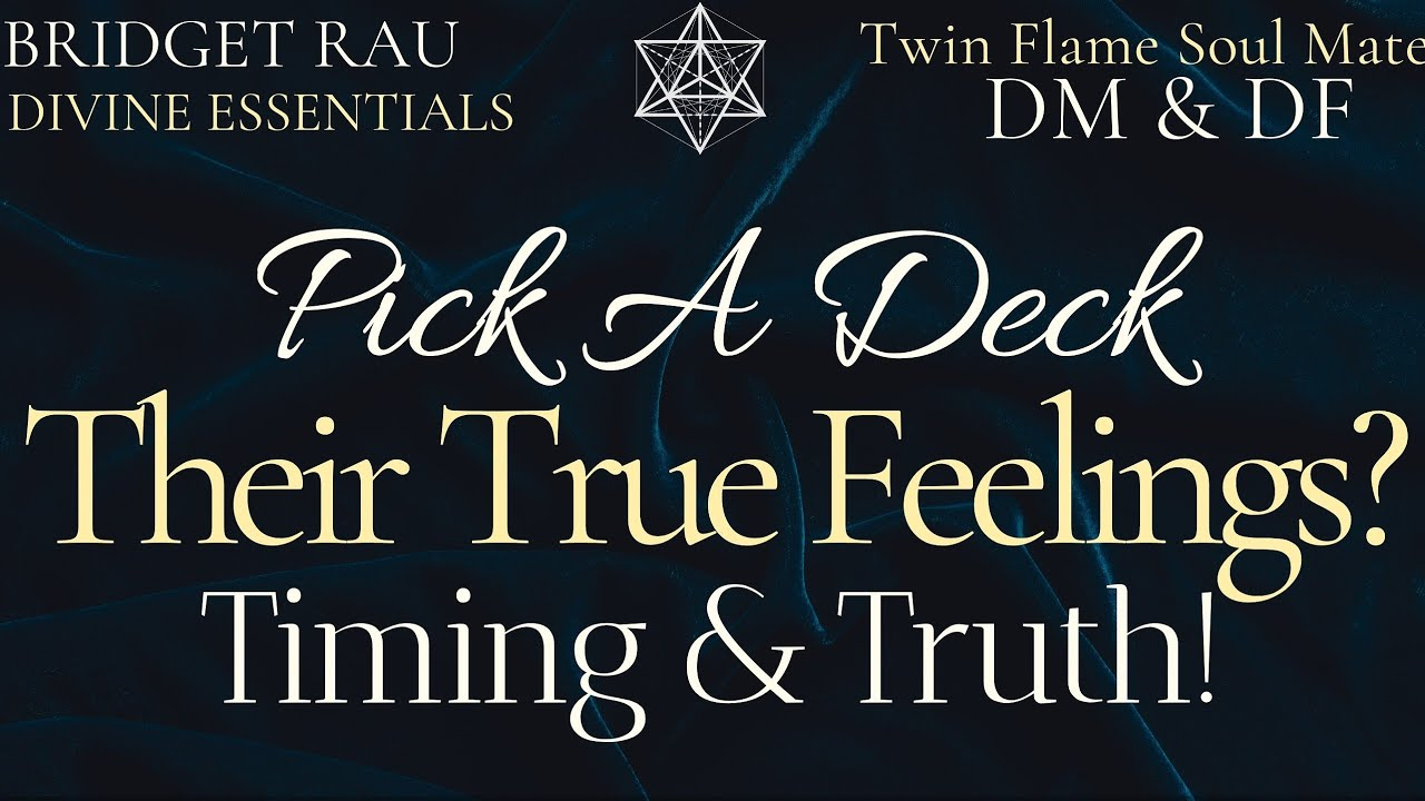 ❤ Their True Feelings? ⏳ Timing & Truth (Pick A Card) 💜🔮💜 Psychic Tarot Reading!