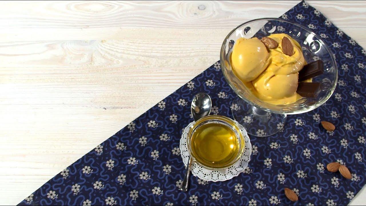 Рецепт облепихового джелато с медом в мороженице BORK E801 от Ольги Шенкерман